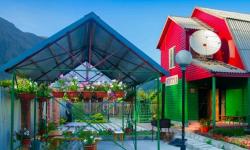 Двухэтажная мини-гостиница на термальных источниках