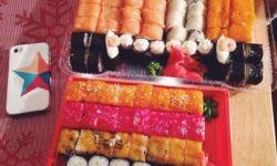 Суши-шоп - много постоянных клиентов