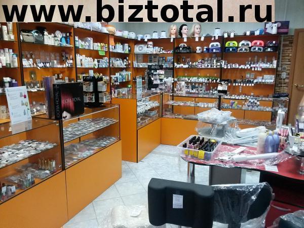 Магазин косметики с товарами для парикмахеров, стилистов