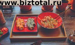 Суши и лапша известного бренда в сзао