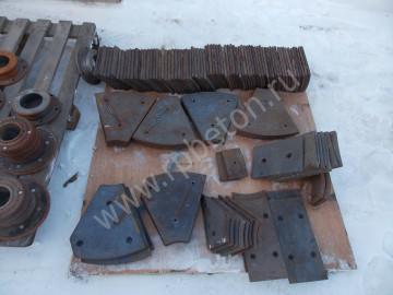 Броня бетоносмесителя (футеровочные листы бетоносмесителя)