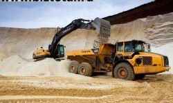 Карьер с запасами по пгс 1.     955.     018 м3.      запасы по песку 4.     240.     212 м3