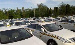 Такси и парк машин