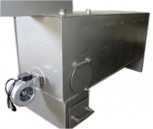 Котел 35 кВт твердотопливный пиролизного горения