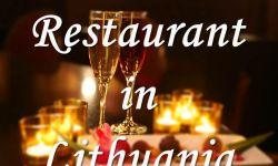 Продается работающий ресторан в центре Вильнюса.