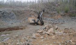 Карьер строительного камня с перерабатывающим комплексом