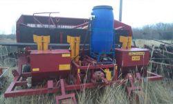 Оборудование для посадки картофеля (картофелесажалка Л207 и фреза (АПК-2,8))