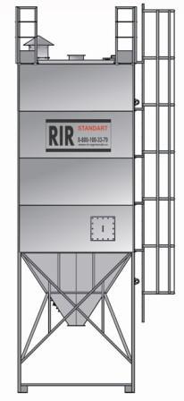 Силосы вентилируемые RIR БП – экспедиторские емкости