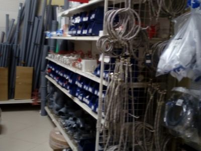 Магазин по реализации следующих видов товаров: строительные товары, отделочные материалы