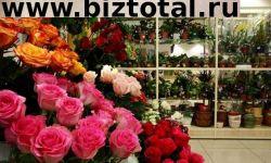 Магазин живых цветов в центральном районе