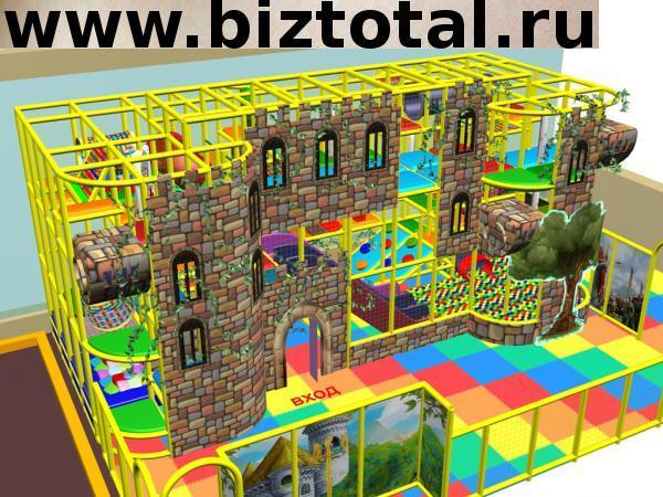 Детский игровой лабиринт «Крепость»