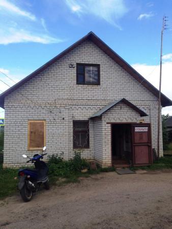 Здание магазина на участке в собственности