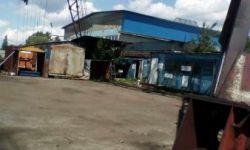 Земельный участок, бетонная подкрановая площадка