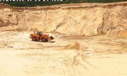 Карьер, песчано-гравийная смесь