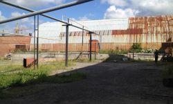 Здание склада с рампой