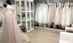 Красивый действующий свадебный  салон