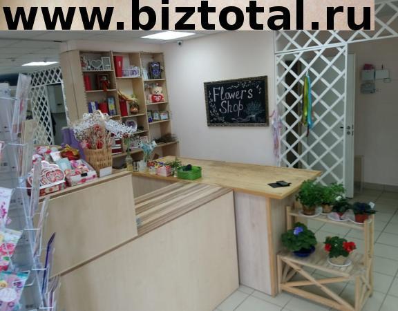 Цветочный магазин на красной линии