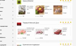 Агрегатор (маркетплейс) фермерских продуктов