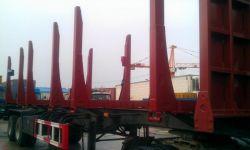 Полуприцеп лесовоз, 45 тонн «CIMC»