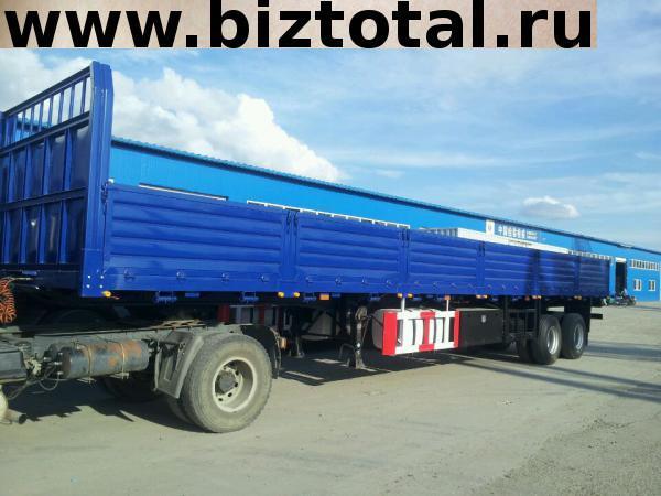 Бортовой полуприцеп«CIMC» грузоподъёмностью 40 тонн