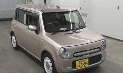 Хэтчбек 2 поколение SUZUKI ALTO LAPIN CHOCOLATE кузов HE22S гв 2014 пробег 95 т.км