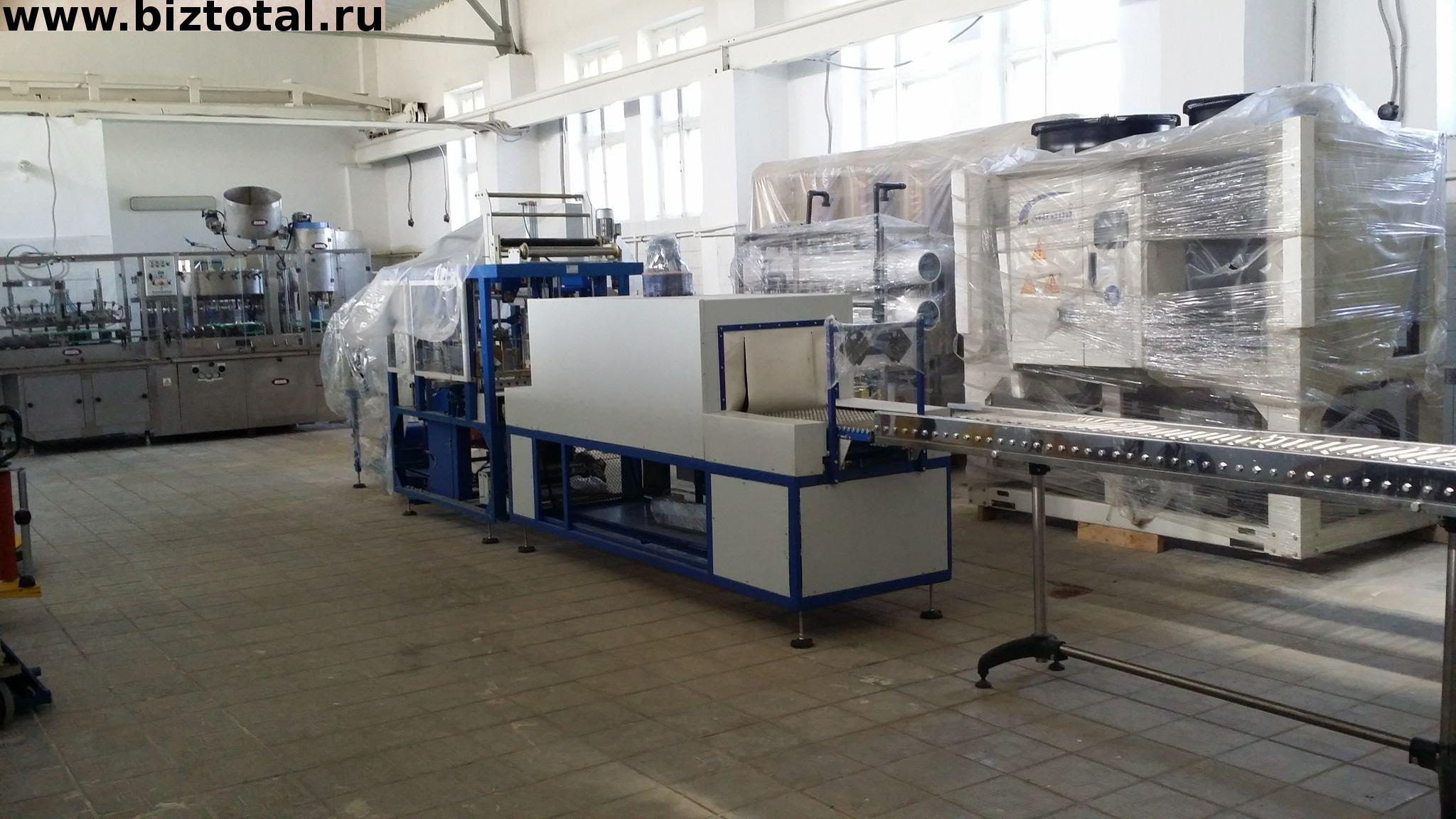 Завод по розливу минеральной воды и газированных напитков