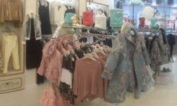 Бутик детской одежды в ТРЦ