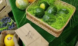 Брендированный магазин фрукты и овощи