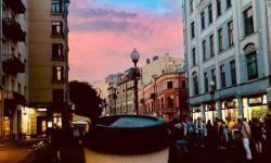 Кофе-точка на Старом Арбате