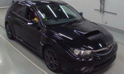 Хэтчбек спортивный класс рестайлинг Subaru Impreza WRX STI гв 2010 4WD