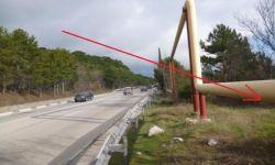 Участок в 10 метрах от трассы Ялта-Севастополь