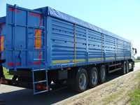 Полуприцеп-зерновоз 52 куб. м 3 осный