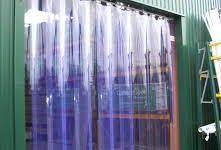 Шторы ПВХ для производств и производственных складских территорий