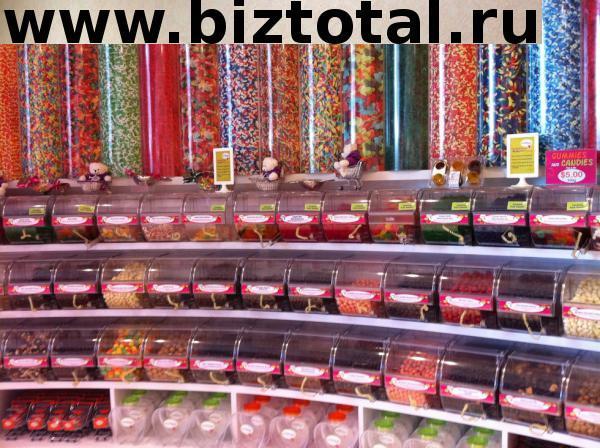 Сеть островков по продаже сладостей в ТЦ