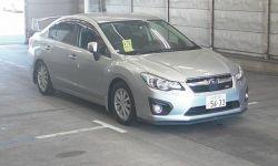 Седан 4 поколение subaru impreza g4 кузов gj3 гв 2014 4wd пробег 39 тыс км
