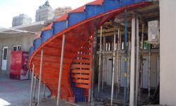 Строительство железобетонных лестниц