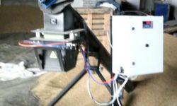 Дозатор для фасовки сыпучих компонентов на колесах