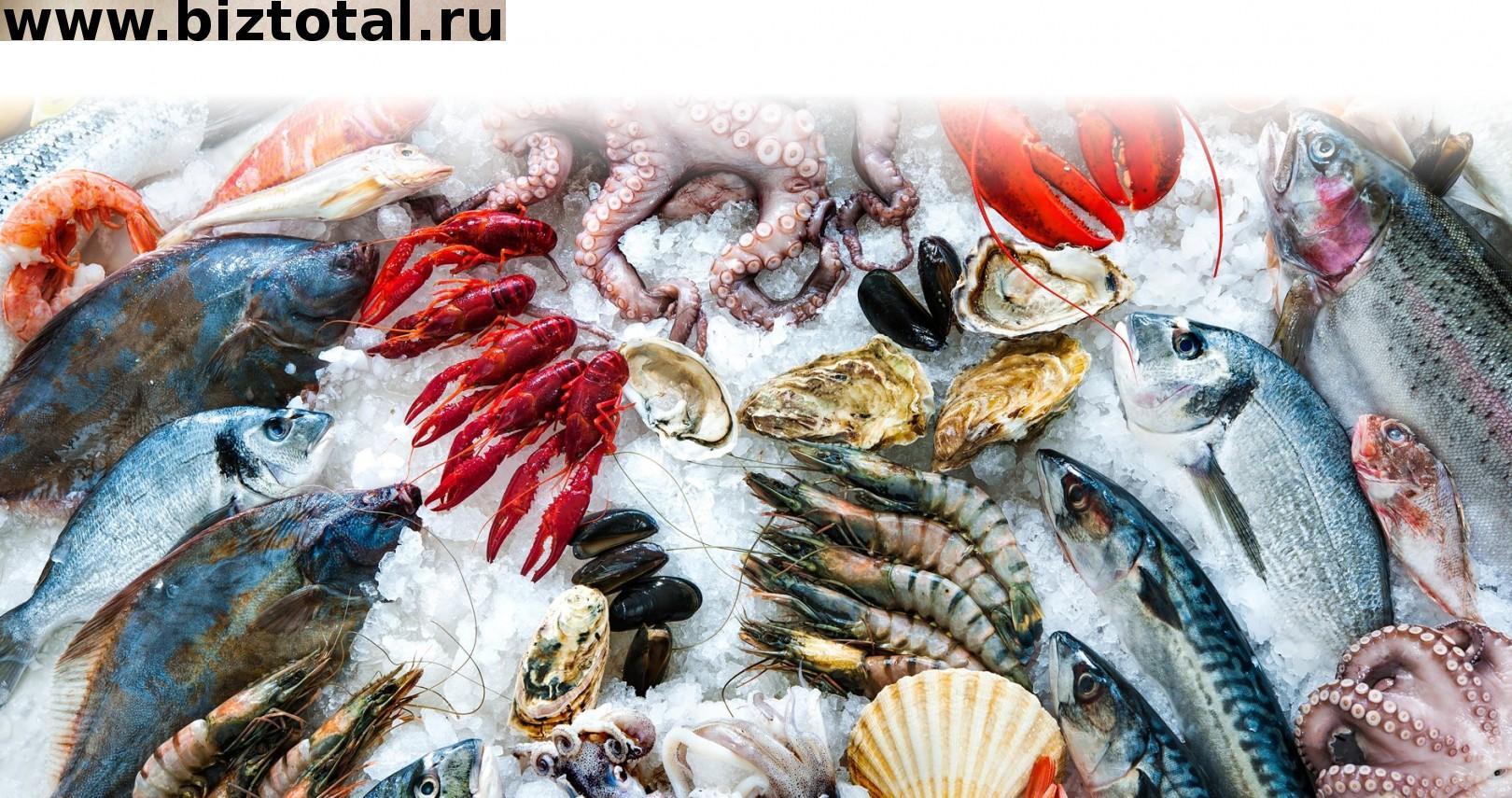 Магазин рыбы в ТЦ
