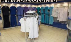 Магазин брендовой медицинской одежды в ТЦ