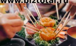 Раскрученная сеть суши с запатентованным брендом