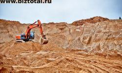 Месторождение песка горного (кварцевого)