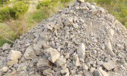 Месторождение строительного камня (скальный грунт, щебень)
