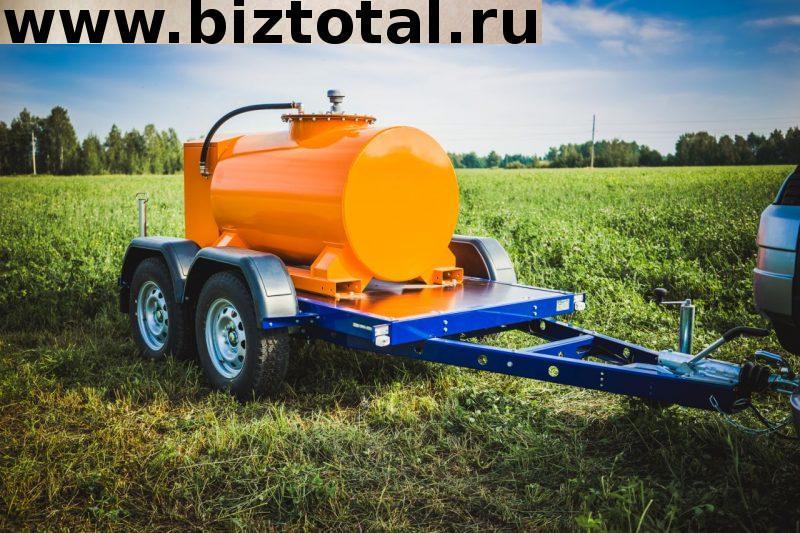 Прицеп заправщик дизельного топлива 1000 л.