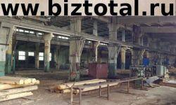 База по производству оцилиндрованного бревна