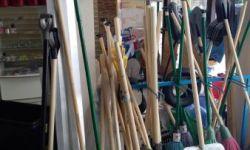 Павильон стройтоваров на рынке