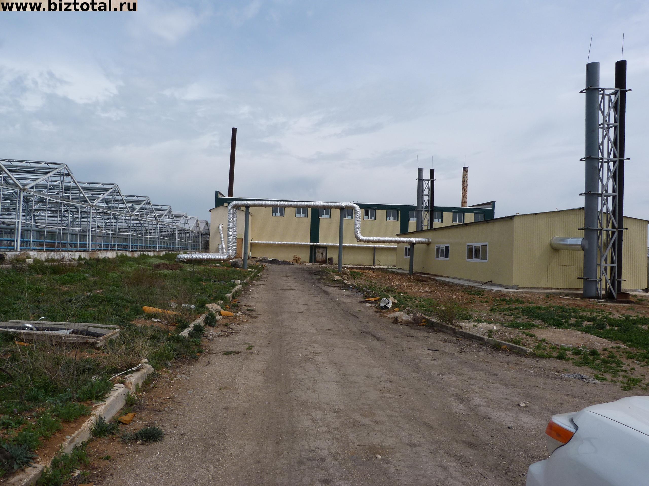 Административно бытовой комплекс и подготовленный конструктив, промышленных теплиц