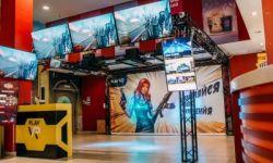 Игровая зона виртуальной реальности