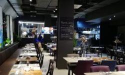 Итальянский ресторан с открытой кухней