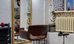 Полностью оборудованное  парикмахерское место