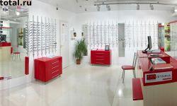 Салон оптики с кабинетом оптометриста и дорогой мебелью
